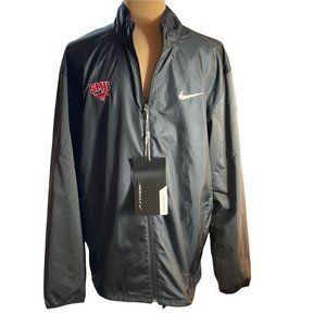 NWT Nike Golf SMU Mustangs Full Zip Shield Jacket Black M